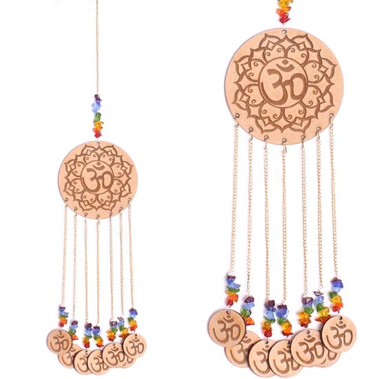Hänger - OM - mit den sieben Chakrafarben